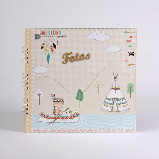Álbum-Fotos-Infantil-Indians-KIDS0057-1